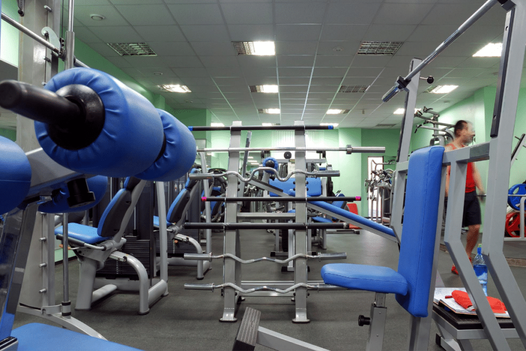 physical conditioning room or gym